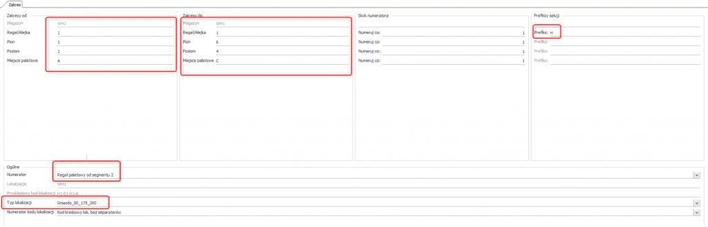 expertwms system wms wersja 5.2.0 generator magazynu