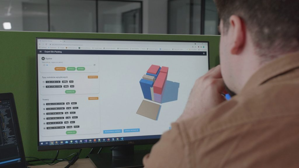 system expert bin-packing system IT pakowanie symulacja